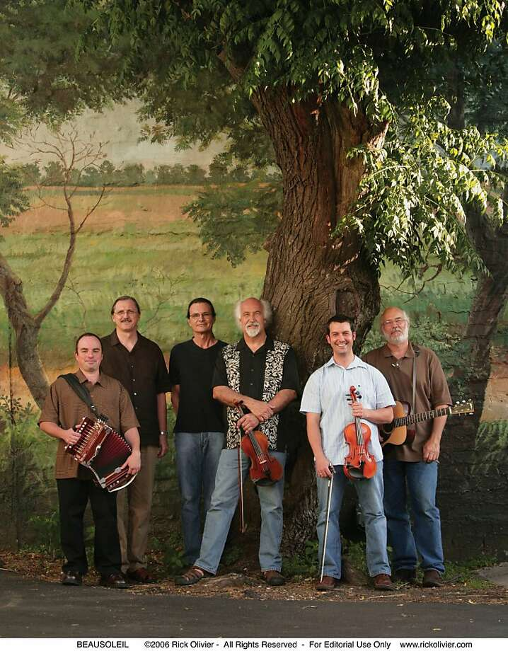 One of the bands closely associated with Ashkenaz, Cajun ensemble BeauSoleil, will play an anniversary show Tuesday. Photo: Ashkenaz, ©2006 Rick Olivier