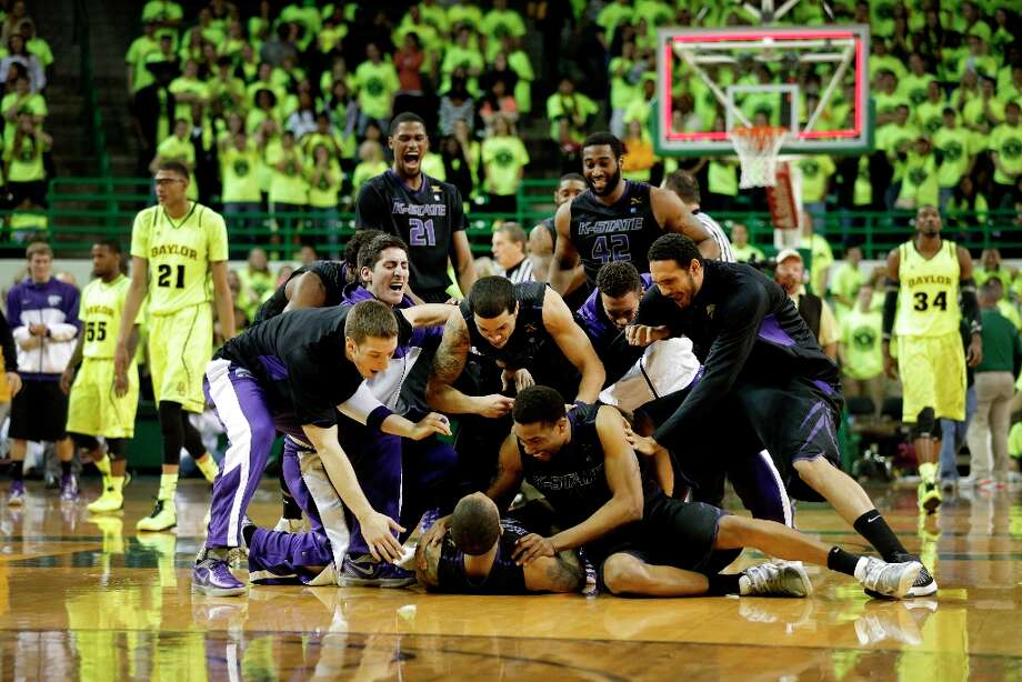 2. Kansas  State (24-5, 13-3): Wildcats win a gritty one in Waco to keep their hopes alive of a first regular-season conference championship since winning Big Eight in 1978. Photo: Tony Gutierrez, Associated Press / AP