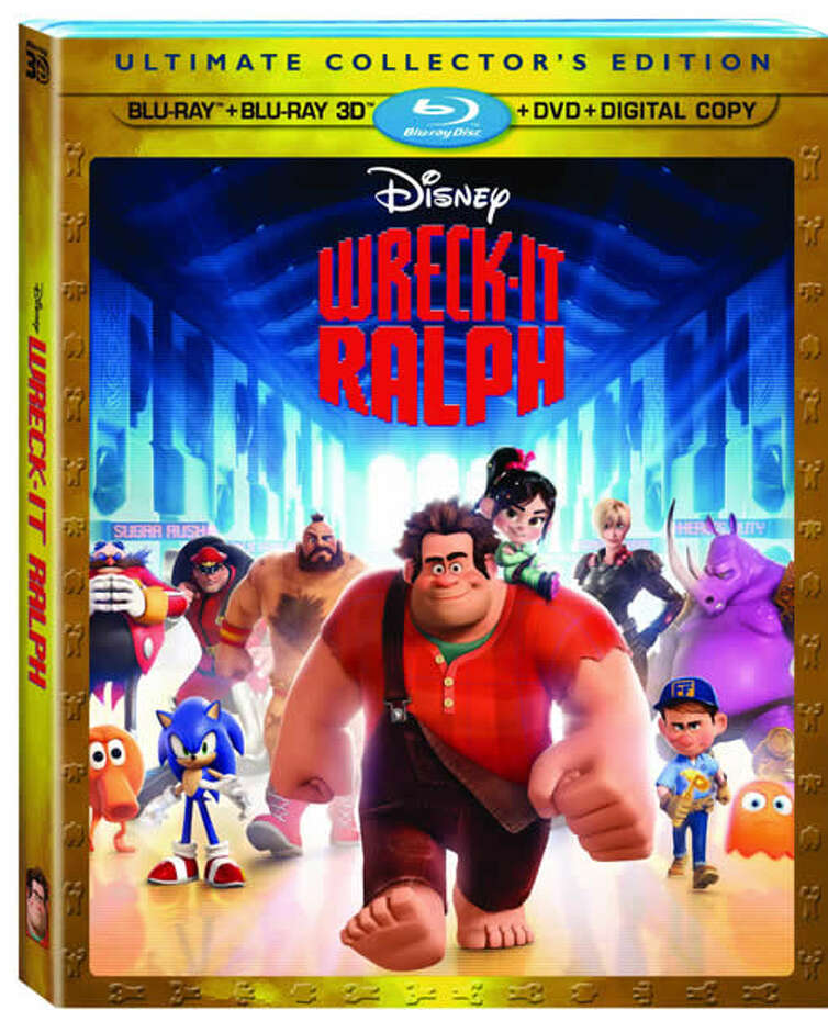 3DBD/BD/DVD cover for Wreck-It Ralph