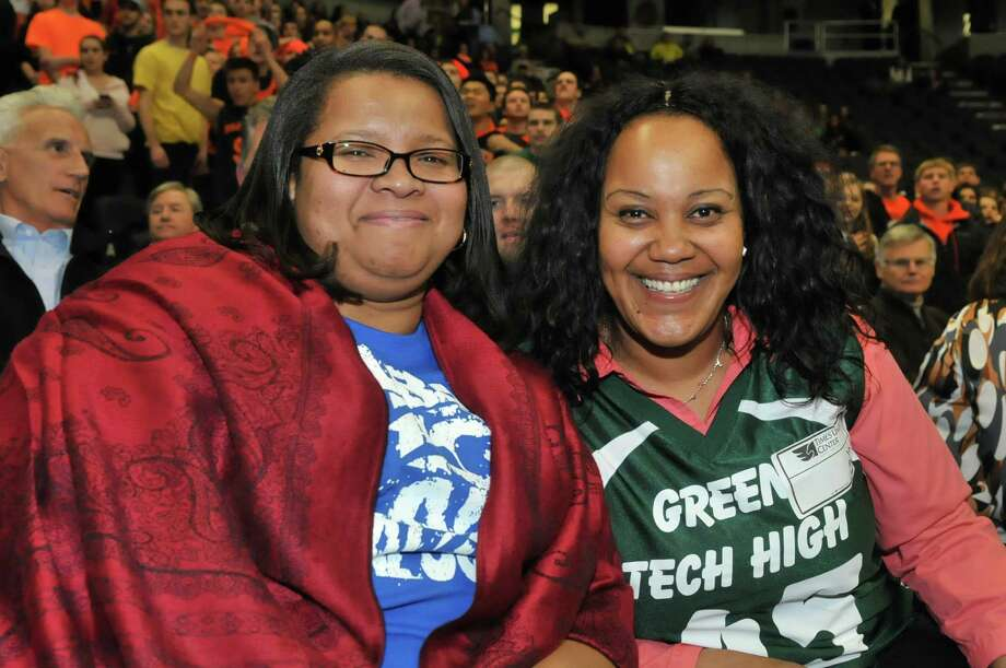 Were you Seen at the Section II Class AA High School Boys and Girls Championships at the Times Union Center in Albany on Monday, March 4, 2013? Photo: Shawn Morgan Photography