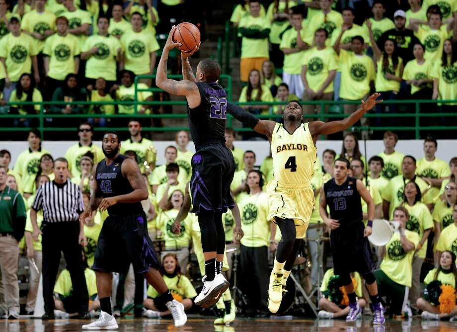 Who's hot - Kansas State F Rodney McGruder:Notched 18 points, including the game-winning 3-pointer at the buzzer, to boost KSU's victory at Baylor. McGruder has scored in double figures in eight straight games, averaging 16 points per game in the span. Photo: Tony Gutierrez, Associated Press / AP