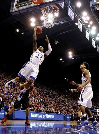 Who's hot - Kansas G Ben McLemore: Erupted for a school freshman single-game record 36 points to lead the Jayhawks past West Virginia. Photo: Jamie Squire, Getty Images / 2013 Getty Images