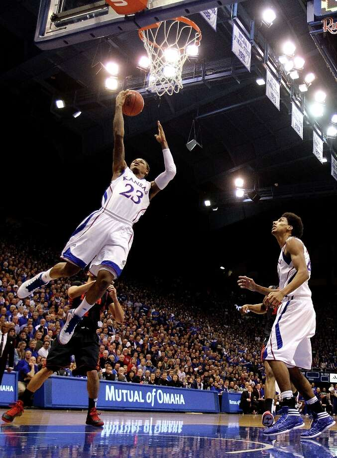 Who's hot - Kansas G Ben McLemore:Erupted for a school freshman single-game record 36 points to lead the Jayhawks past West Virginia. Photo: Jamie Squire, Getty Images / 2013 Getty Images