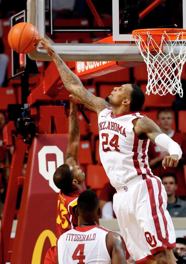 Who's hot - Oklahoma F Romero Osby: Went for 22 points against Iowa State, giving him 53 points in his last two games — most in a two-game span in his career. Osby has hit 28 of 44 from the field (63.6 percent) during his last four games. Photo: Steve Sisney, Associated Press / The Oklahoman