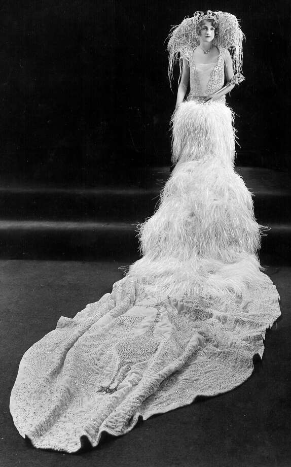 1928, Martha Lewis: Queen of the Court of the Mediterranean. Photo: San Antonio Express-News File Photo