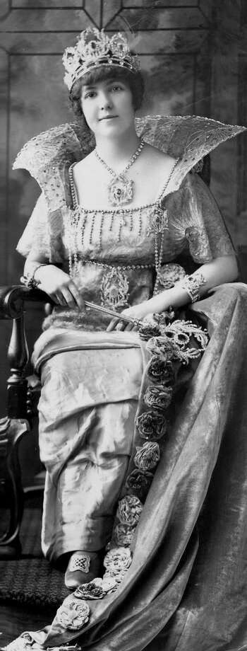 1914, Catherine Franklin: Queen of the Court of the Year. Photo: San Antonio Express-News File Photo