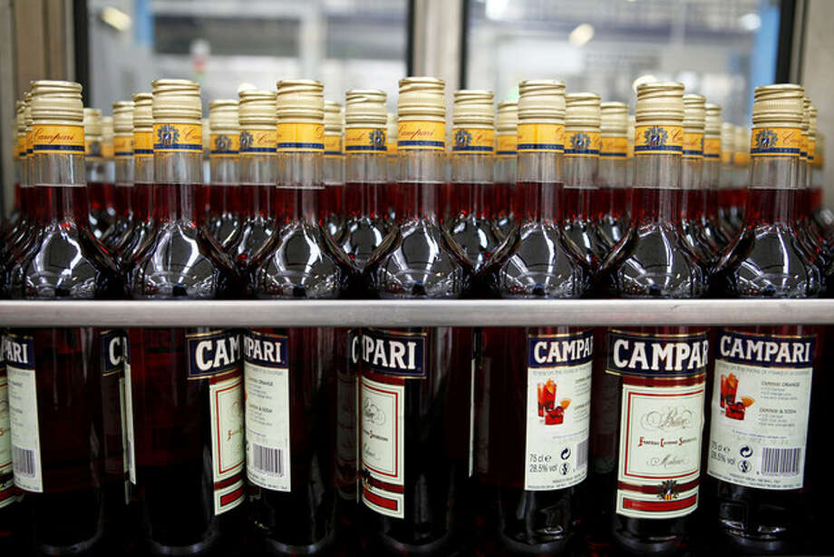 Davide Campari-Milano SpA, which sells the Campari aperitif and is Italy's largest maker of alcoholic beverages, has doubled in value in the last five years and reached a record in October as demand for Campari in Italy increased.