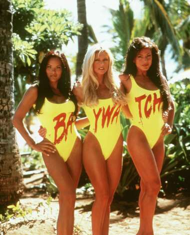 Here's another memory: Baywatch Hawaii, which ended in 2001. Photo: Pearson TV / Handout slide