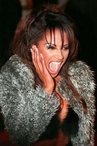 """Baywatch'' star Traci Bingham is shown in this Feb. 8, 1997 file photo.  Photo: MICHAEL CAULFIELD, AP / AP"