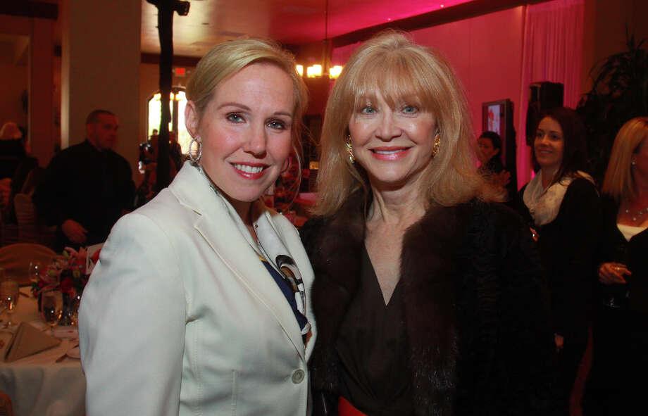 Deana Blackburn, left, and Astrid Van Dyke. Photo: Gary Fountain, For The Chronicle / Copyright 2013 Gary Fountain.