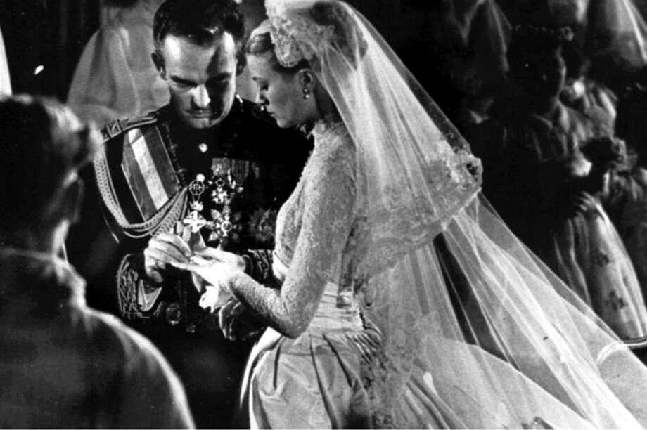 1956:Rainier III, Prince of Monaco and Princess Grace in Monaco. Photo: Gamma, Getty / 2011 Gamma-Keystone