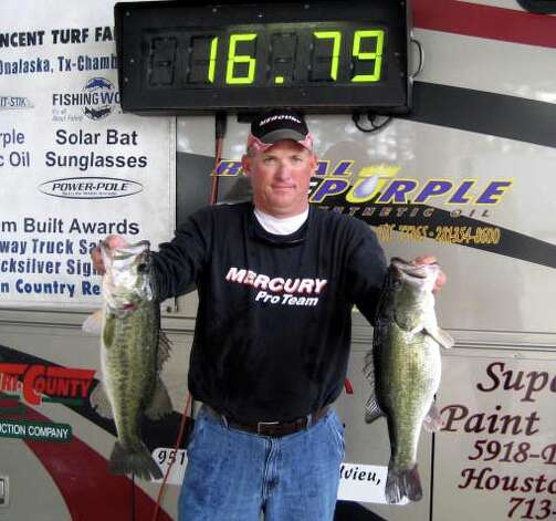 Clayton Boulware came in 2nd place with his bag of fish that weighed 16.79 lbs.