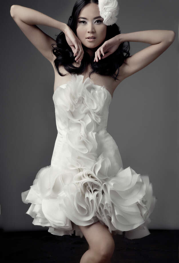 2010: From Chloe Dao's bridal collection  Photo: M Veltman, Getty / handout