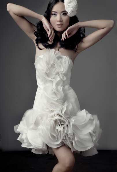 2010: From Chloe Dao's bridal collection