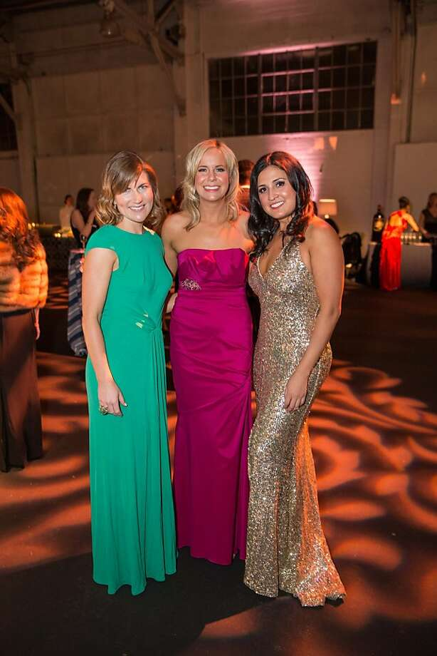 Lucy Milligan Wahl, Michellen Dennen and Vanessa Mendoza at the Junior League Fashion Show on March 1, 2013. Photo: Drew Altizer Photography
