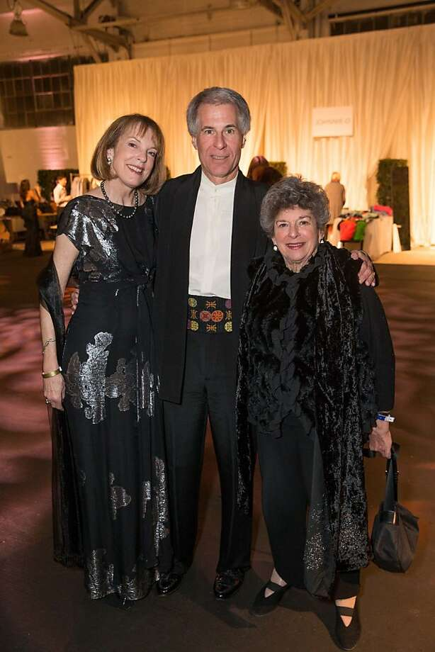 Eve Wertsch, Wallace Wertsch and Delia Ehrlich at the Junior League Fashion Show on March 1, 2013. Photo: Drew Altizer Photography