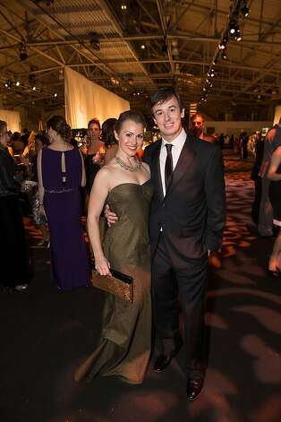 Devon and James Diebel at the Junior League Fashion Show on March 1, 2013. Photo: Drew Altizer Photography