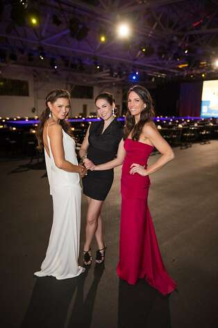 Amber Hill, Lauren Riggs and Susie Hall at the Junior League Fashion Show on March 1, 2013. Photo: Drew Altizer Photography