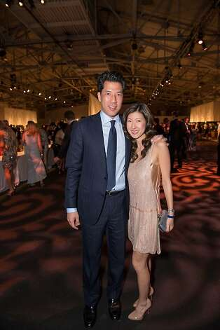 Gene Chung and Sally Fowler at the Junior League Fashion Show on March 1, 2013. Photo: Drew Altizer Photography