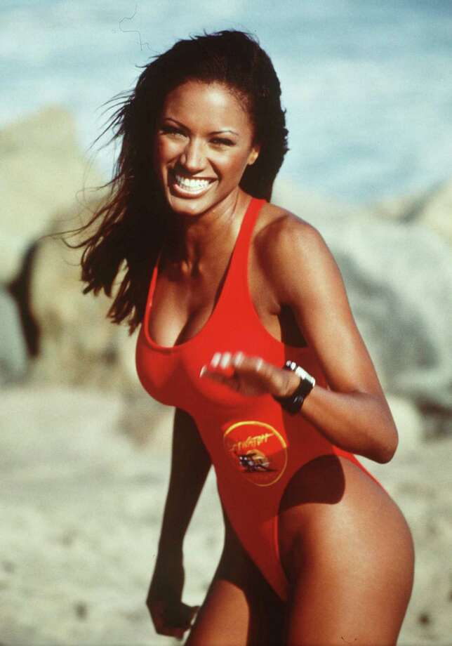 Model and actress Traci Bingham was on the cast from 1996-98, playing lifeguard Jordan Tate.  She's another cast member who posed in Playboy. Photo: All American TV, Inc./Handout / Getty Images