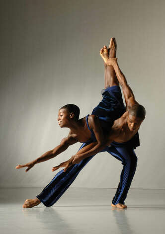 "Ailey II artistic director Troy Powell's ""The External Knot,"" will be one of three selections the New York City-based company performs during a visit to Westport Country Playhouse in Westport, Conn., Sunday, March 10, 2013. It is part of a benefit for Bridgeport-based Neighborhood Studios of Fairfield County. The show starts at 7 p.m. For more information, 203-227-4177, http://westportplayhouse.org. Contributed photo: Eduardo Patinio Photo: Contributed Photo"
