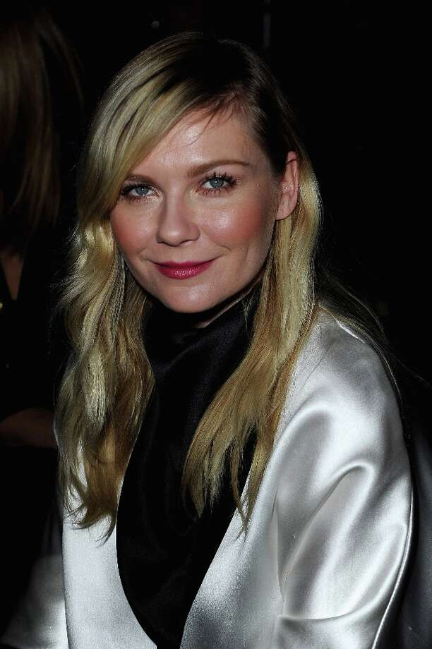 Kirsten Dunst attends the Saint Laurent Fall/Winter 2013 Ready-to-Wear show as part of Paris Fashion Week on March 4, 2013 in Paris, France. Photo: Pascal Le Segretain, Getty Images / 2013 Getty Images