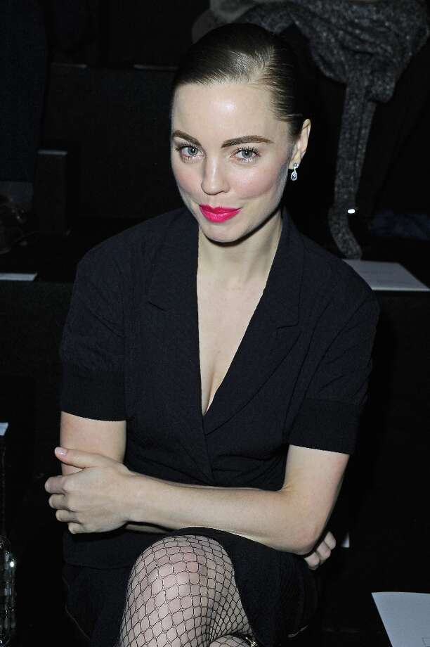 Actress Melissa George attends the Nina Ricci Fall/Winter 2013 Ready-to-Wear show as part of Paris Fashion Week on February 28, 2013 in Paris, France. Photo: Pascal Le Segretain, Getty Images / 2013 Getty Images