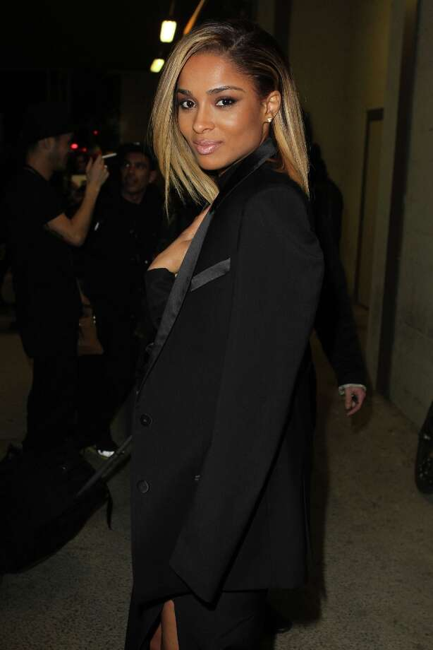Ciara attends Givenchy  Fall/Winter 2013 Ready-to-Wear show as part of Paris Fashion Week on March 3, 2013 in Paris, France. Photo: Antonio De Moraes Barros Filho, WireImage / 2013 Antonio de Moraes Barros Filho