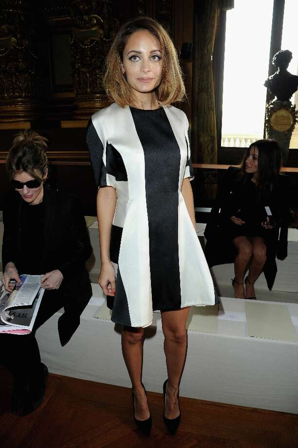 Nicole Richie attends the Stella McCartney Fall/Winter 2013 Ready-to-Wear show as part of Paris Fashion Week on March 4, 2013 in Paris, France. Photo: Pascal Le Segretain, Getty Images / 2013 Getty Images