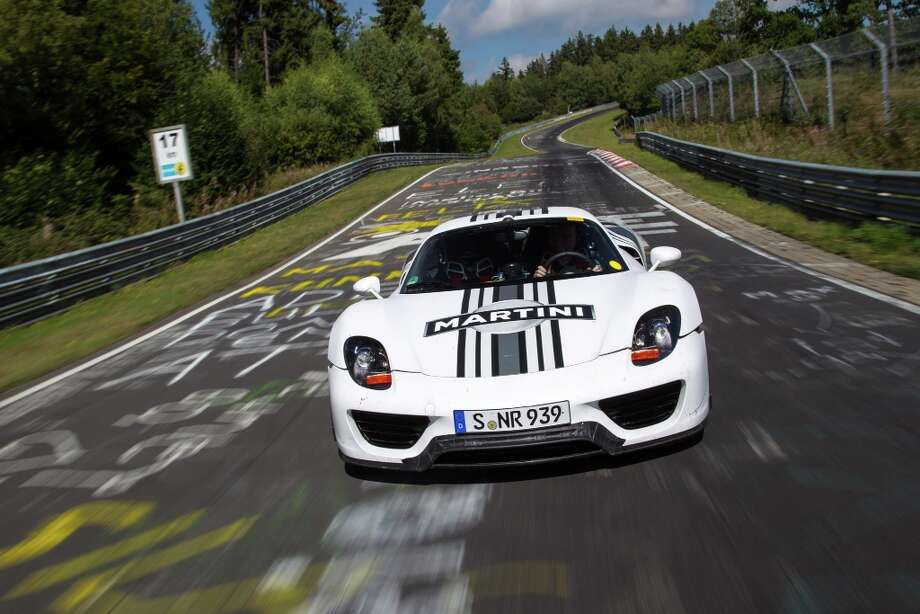 The Porsche 918 Spyder.