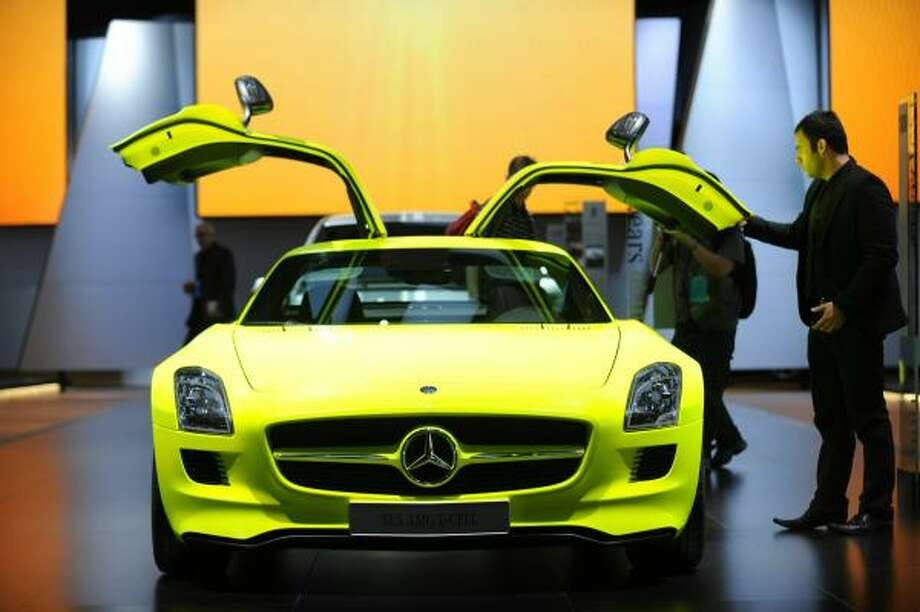 Mercedes-Benz has a hybrid variant of its gullwing sports car in the works – they call it the SLS AMG e-Cell and it should have more than 700 horsepower; price, so far, has not been disclosed.