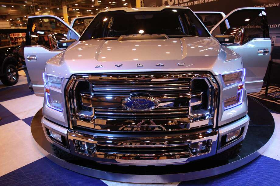 The Atlas, a concept Ford truck, has high-tech and fuel efficiency features at Reliant Center on Monday, March 4, 2013, in Houston. Photo: Mayra Beltran, Houston Chronicle / © 2013 Houston Chronicle