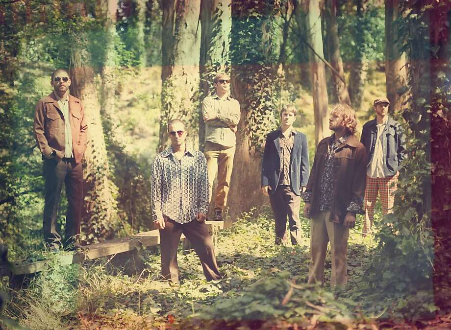 Monophonics say they were influenced by the psychedelic sounds of Haight-Ashbury in the late 1960s. Photo: Courtesy Of The Band