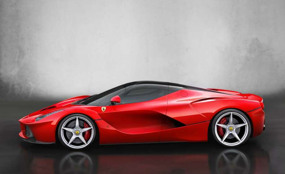 Ferrari unveiled its new 950-horsepower hybrid vehicle at the Geneva Auto Show. The automaker's newest supercar packs a 6.3-liter V12 engine and an electric motor under the hood. It tops out at 230 mph.