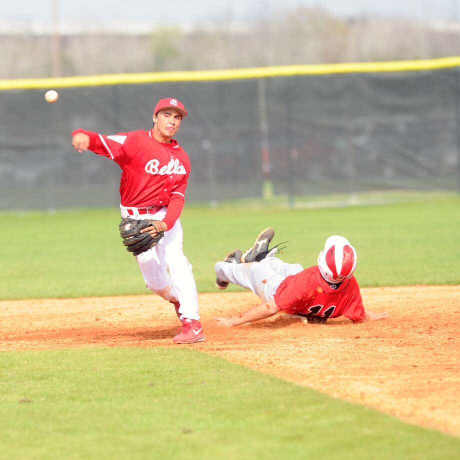Bellaire defeated Furr to win the 45th Annual Ray Knoblauch Baseball Tournament, 8-0.  Bellaire went undefeated in the tournament. Bellaire infielder Michael Page (2) gets the force out on Furr's  Osvaldo Benavides (11) at second base. Photo: Eddy Matchette, Freelance / Freelance