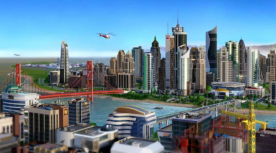 New \'SimCity\' tries to link with schools - SFGate