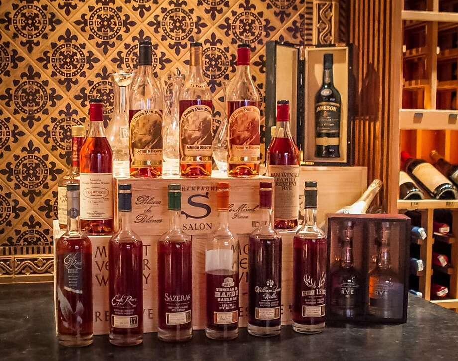 Small-producer whiskeys are part of the wide selection. Photo: John Storey