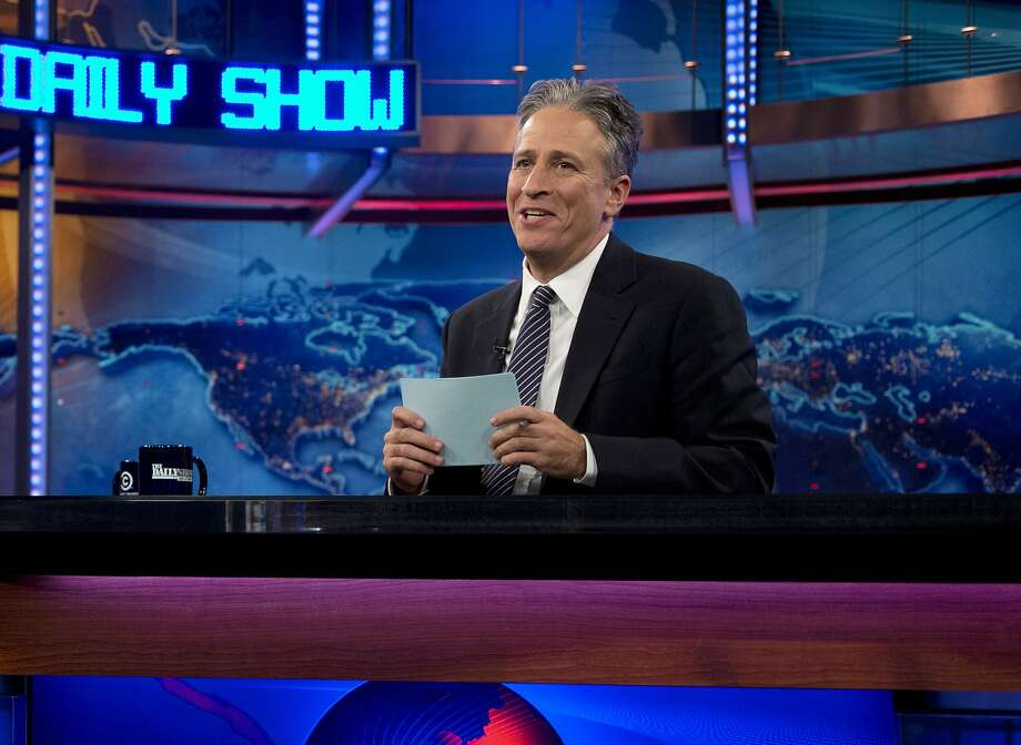 "Jon Stewart says goodbye to ""The Daily Show"" tonight. Photo: Carolyn Kaster, Associated Press"