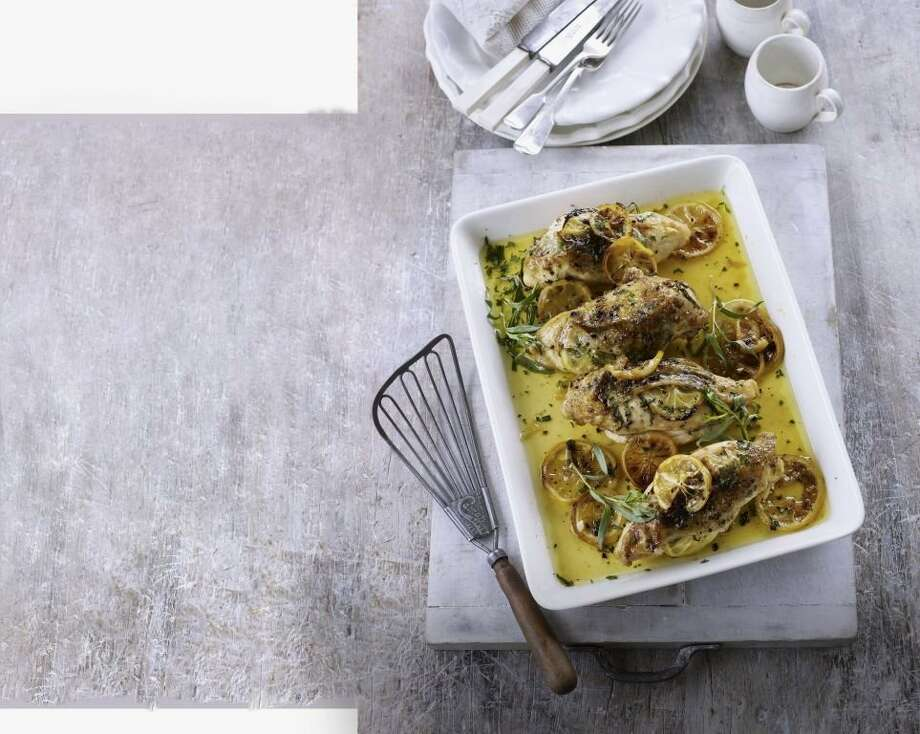 Redbook recipe for Classic Lemon Tarragon Chicken. Photo: Peter Cassidy