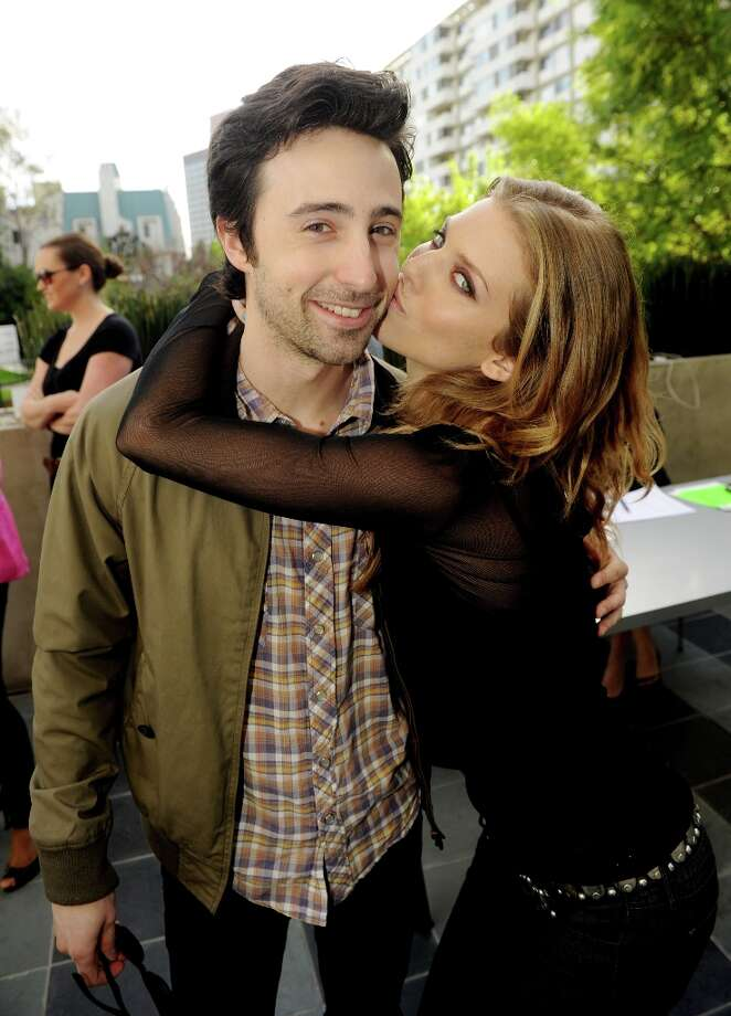 Actors Josh Zuckerman (L) and AnnaLynne McCord pose at the CW Network's 90210 Season 5 Wrap Party on March 3, 2013 in Los Angeles, California. Photo: Kevin Winter, Getty Images / 2013 Getty Images