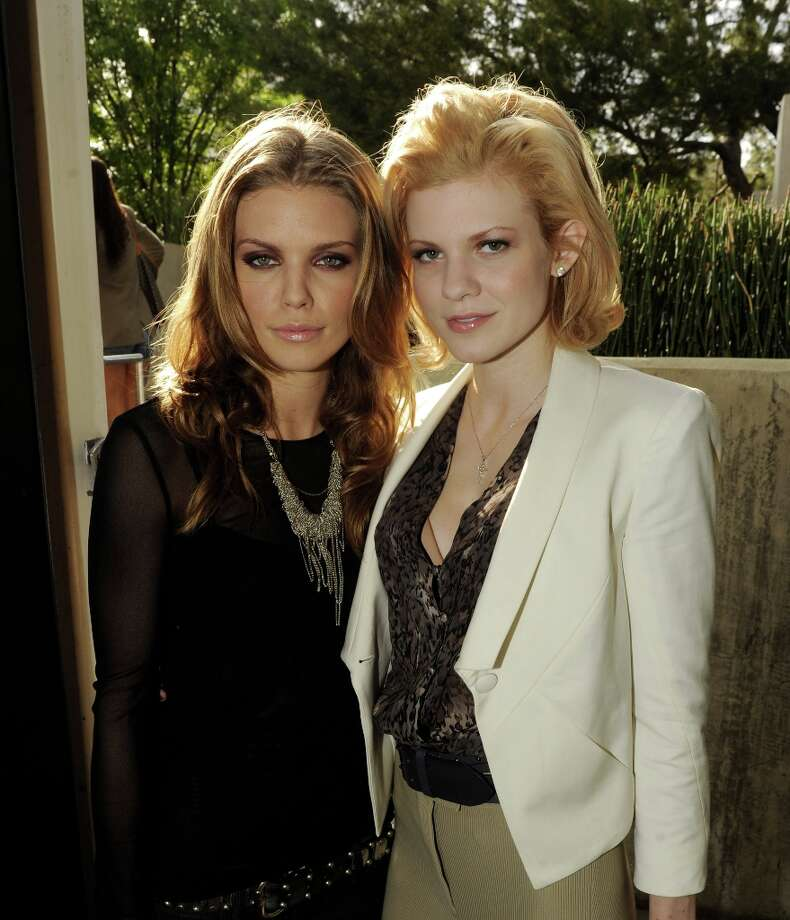 Actresses AnnaLynne McCord (L) and Angel McCord pose at the CW Network's 90210 Season 5 Wrap Party on March 3, 2013 in Los Angeles, California. Photo: Kevin Winter, Getty Images / 2013 Getty Images