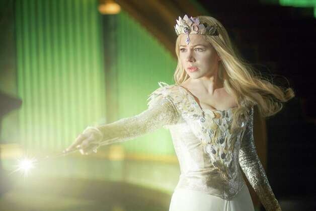 "Michelle Williams in ""Oz the Great and Powerful."" Photo: MERIE WEISMILLER, HO / WALT DISNEY PICTURES"
