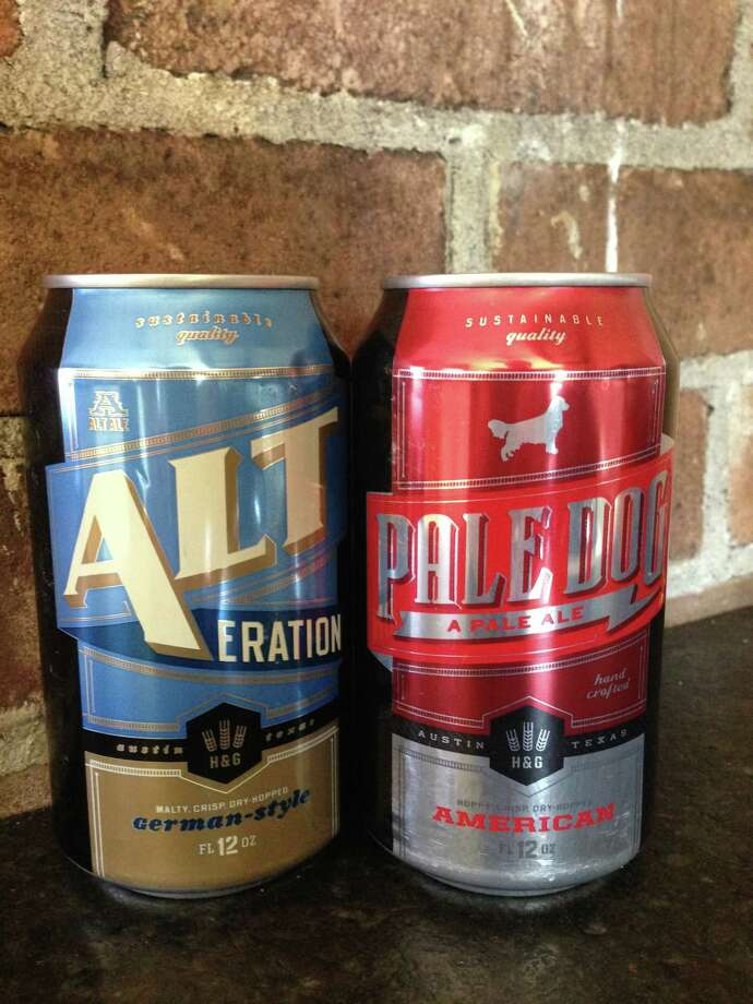 Hops & Grains craft brewery in Austin now sells  Alt-eration and Pale Dog in Houston. Photo: Ronnie Crocker
