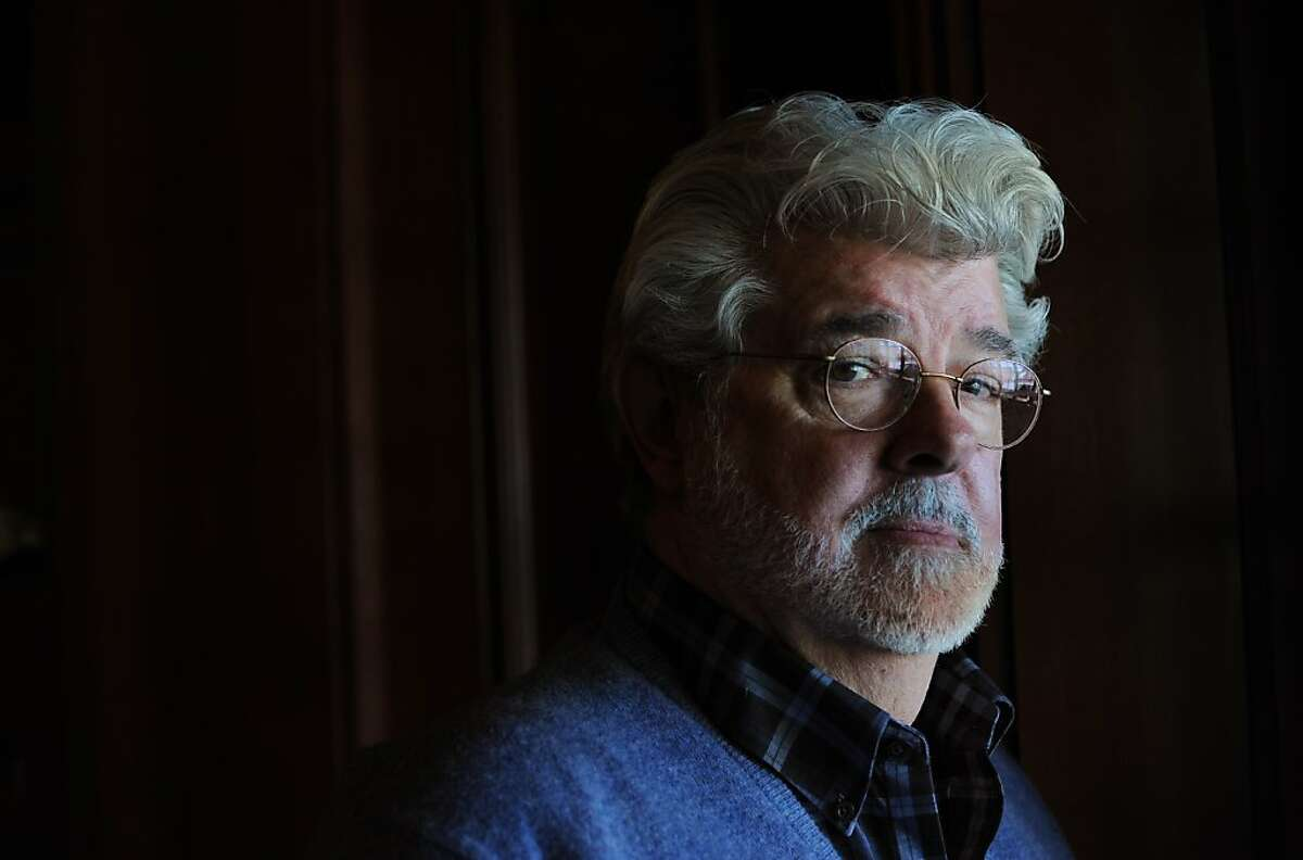 Film Director and Producer George Lucas at Skywalker Ranch in Marin County, California. February 27, 2013.