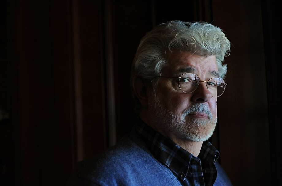 Film director and producer George Lucas' proposed museum would range from Norman Rockwell to digital technology. Photo: Erik Castro, Special To The Chronicle