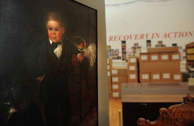 A portrait of Tom Thumb at the Barnum Museum in Bridgeport on Thursday, January 10, 2013. Photo: Brian A. Pounds