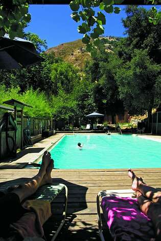 The swimming pool at Tassajara. Photo: San Francisco Zen Center