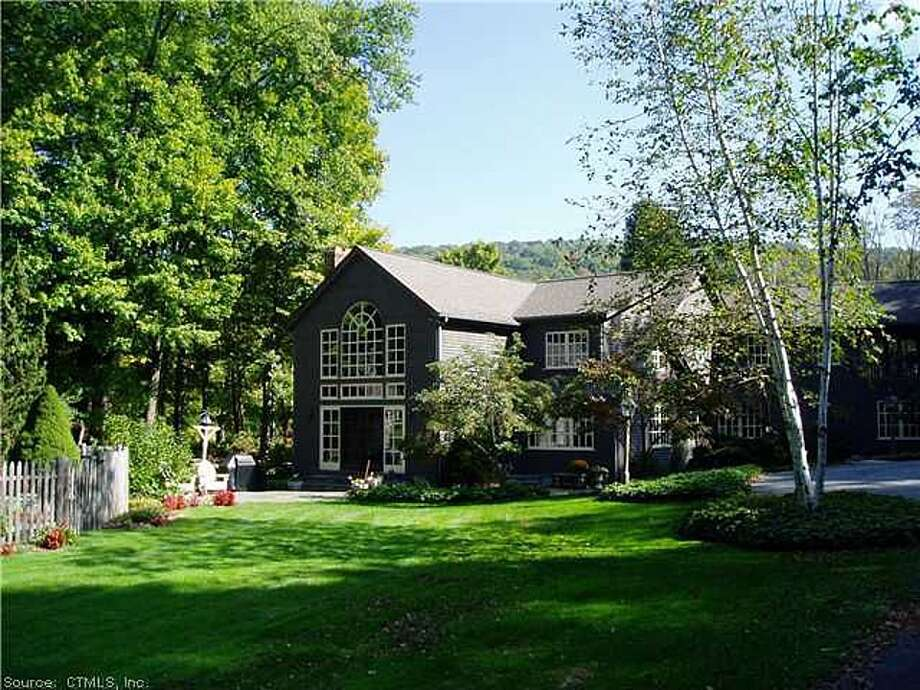 This five-bedroom, two-bathroom house in Sherman is the single most expensive rental property currently on the market in Southwestern Connecticut, according to real estate website Zillow. The house, which sits on 200 acres, is listed for $35,000 a month - which cashes in to $420,000 a year.