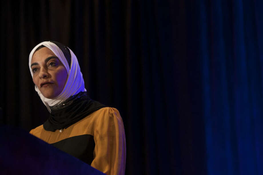 Hayat Sindi, founder and CEO of the i2 Institute speaks during innovations in energy at IHS CERAWeek.