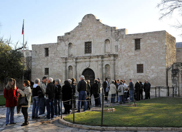"Crowds have flocked to the Alamo this year to see the famed ""victory or death"" letter, on display there for the first time. Photo: Robin Jerstad / For The San Antonio Express-News"
